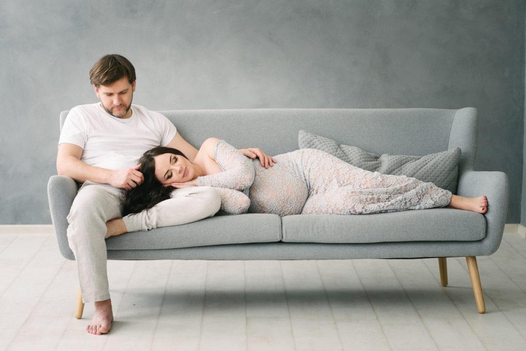 Fotografía barata del embarazo