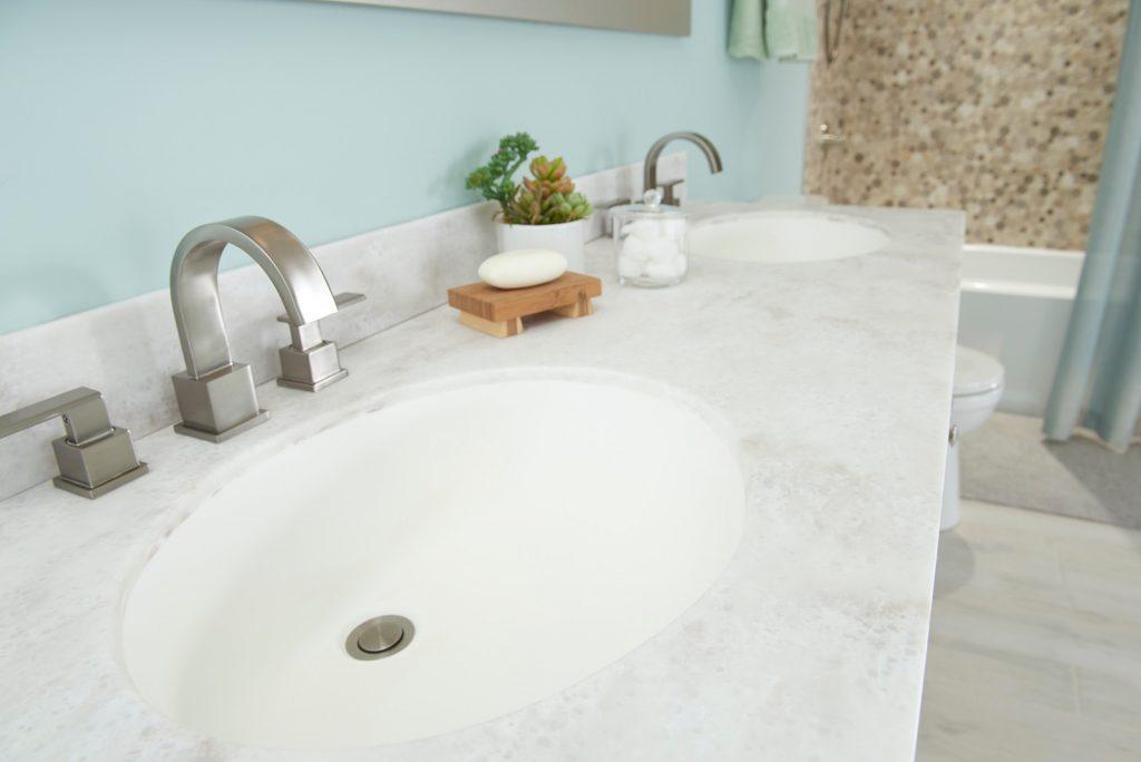 superficie del baño